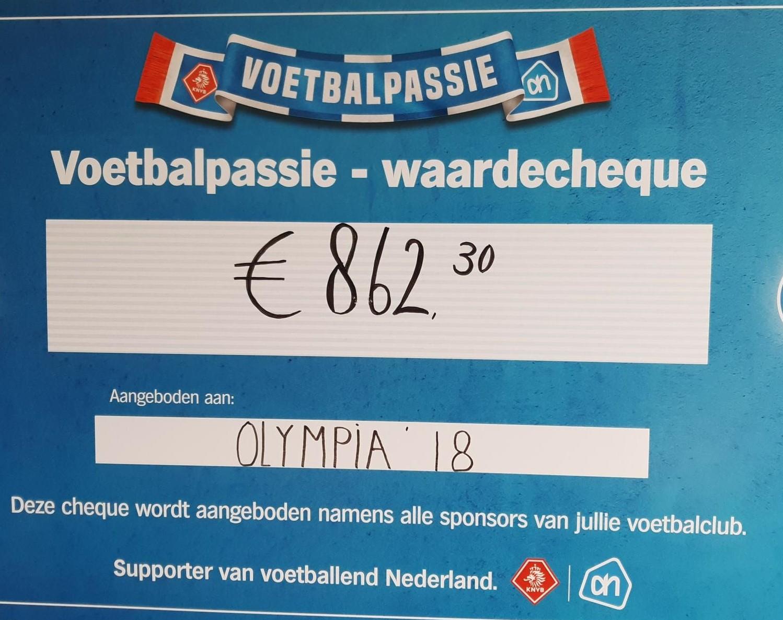 Actie Voetbalpassie Albert Heijn en KNVB